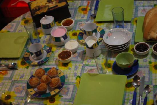 Petit Hotel El Vitraux: Breakfast