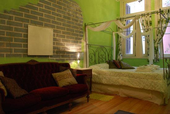 Petit Hotel El Vitraux : Suite Verde