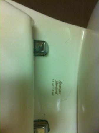 Hampton Inn & Suites Tallahassee I-10 / Thomasville Rd: hair on commode