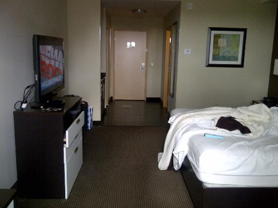 BEST WESTERN PREMIER Miami International Airport Hotel & Suites: View of the room and entrance from the window