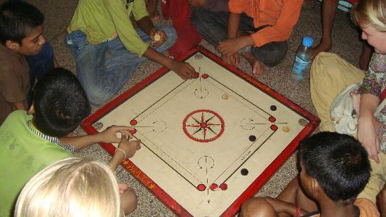 Salaam Baalak Trust City Walk: playing games