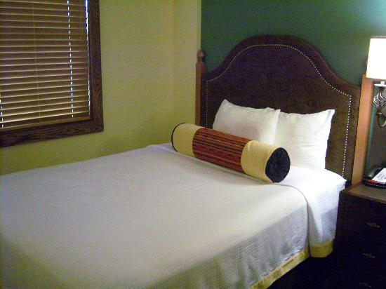 Rough Riders Hotel: Bed view