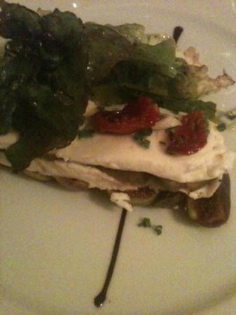 Paris Mediterranee: Pressé de figues et mozzarella
