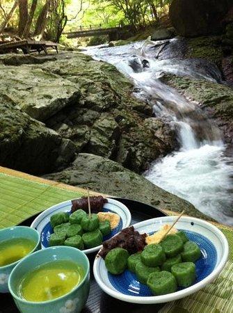 Nasushiobara, Japonia: 小太郎が淵の茶屋♪
