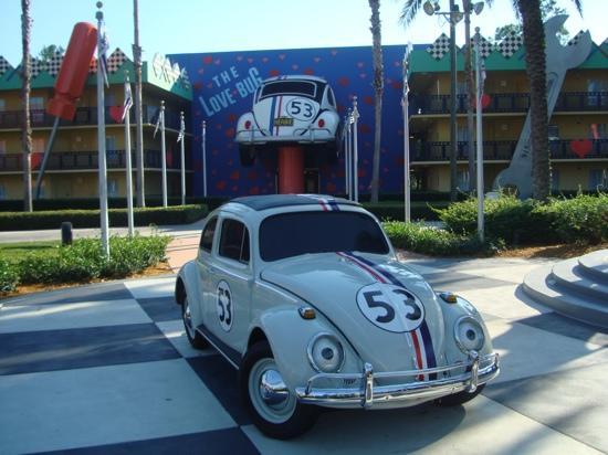 Disney's All-Star Movies Resort: herbie section