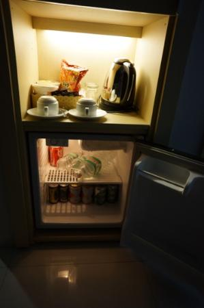 Green Peace Hotel: The minibar