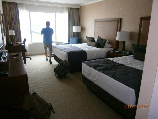 Hyatt Regency Calgary: double room