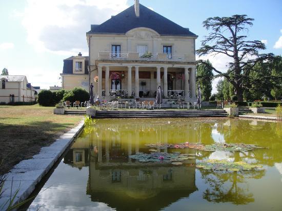 Garrigae Manoir de Beauvoir: hôtel vu du golf