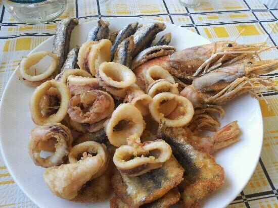 Ceranesi, Italia: frittura mista versione serale