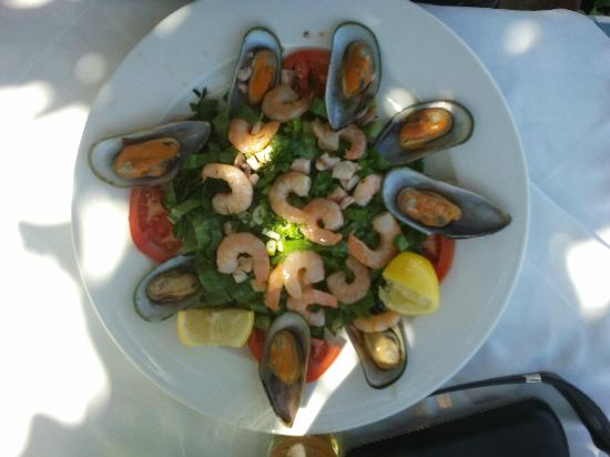Corissia Beach Hotel: Seafood Salad