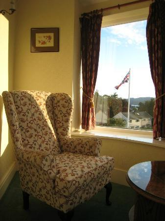 Windermere Hydro Hotel: View from sitting room off main bedroom looking left