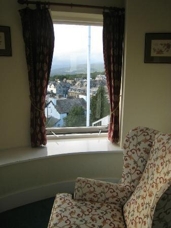 Windermere Hydro Hotel: View from sitting room off main bedroom looking right