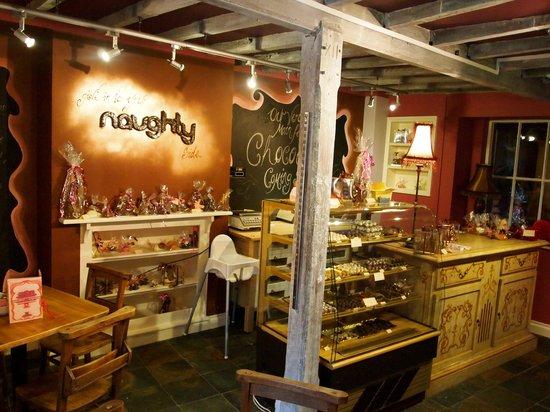 Naughty & Nice Cafe Bistro Ice Cream Parlour Chocolatier: The Naughty Side...
