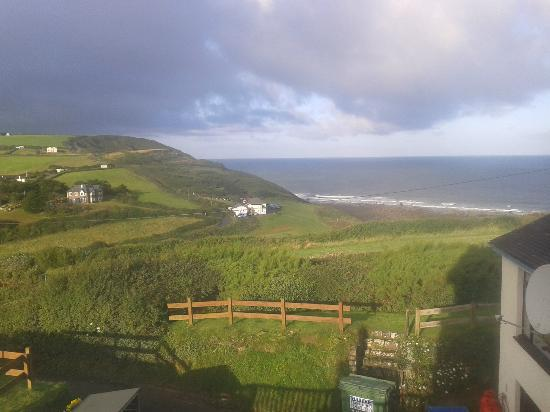 Widemouth Manor Hotel: View from honeymoon suite