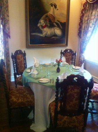 The Sanford House: Main dining room