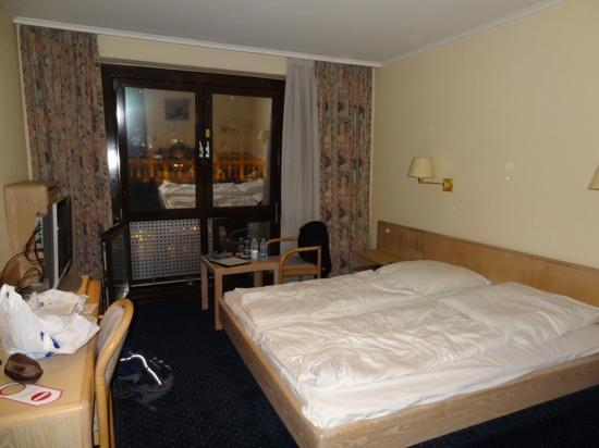 Hotel Daniel: our room, excuse the mess! its a very clean hotel! we were right on the main road and noisy thou