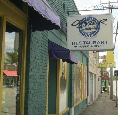 Oyster Bar: Easy to find at Markham and Kavagaugh intersection