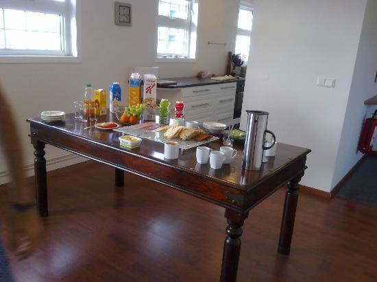 Nupan Deluxe: colazione