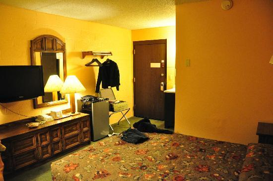 Cheap Sleep Motel : room from the window