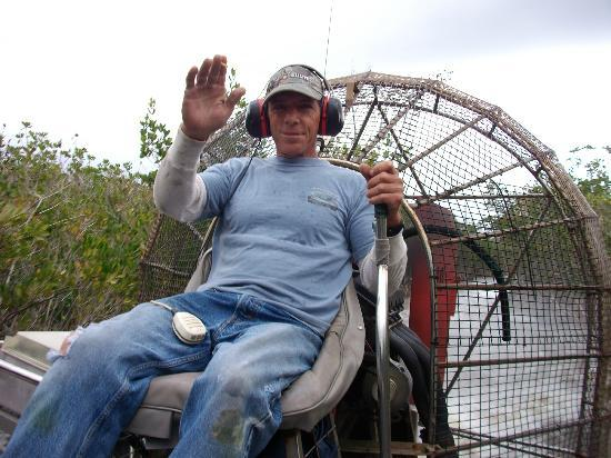 Jungle Erv's Everglades Airboat Tours: Capitan Shane!