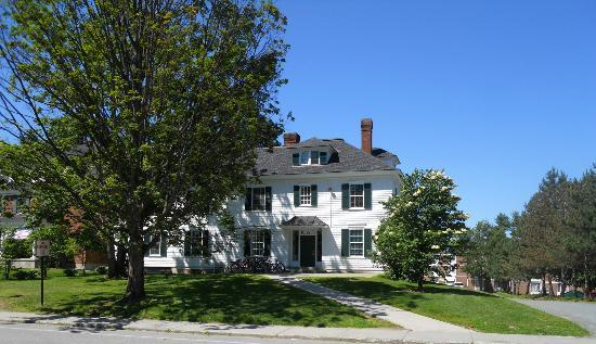 Dartmouth College: One of many Frat Houses