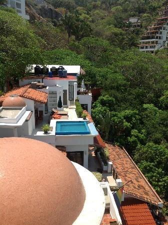 Casa Cupula: View from the penthouse