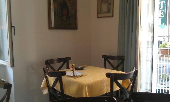 Hotel Villa Nefele: here we had breakfast