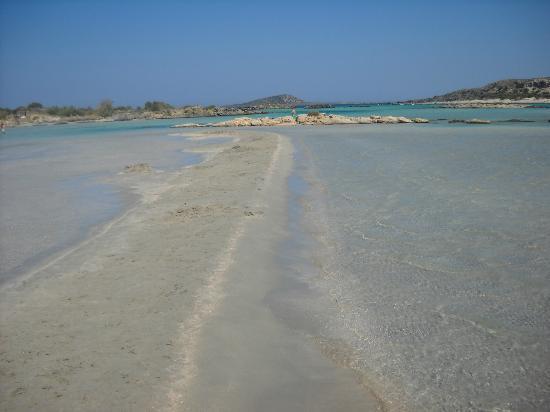 Plage d'Elafonissi : Elafonissi beach