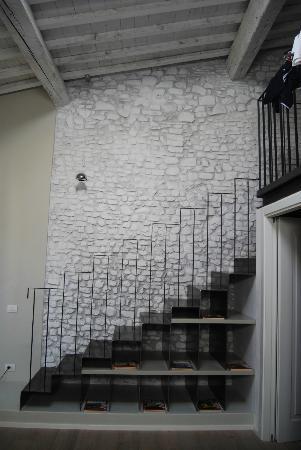 Villa Aruch: l escalier