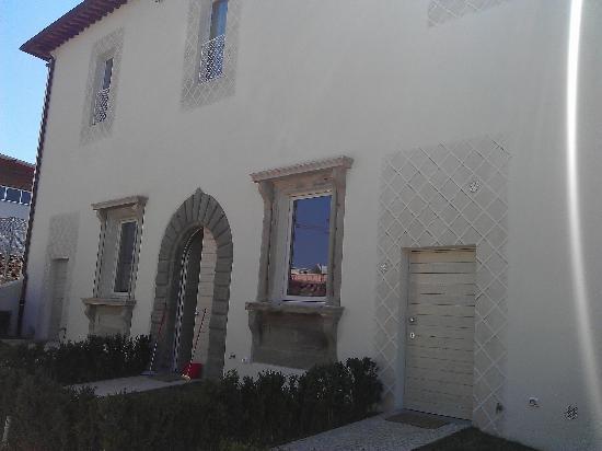 Villa Aruch: vue extérieur