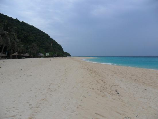 Yapak Beach (Puka Shell Beach): pristine white sand :)