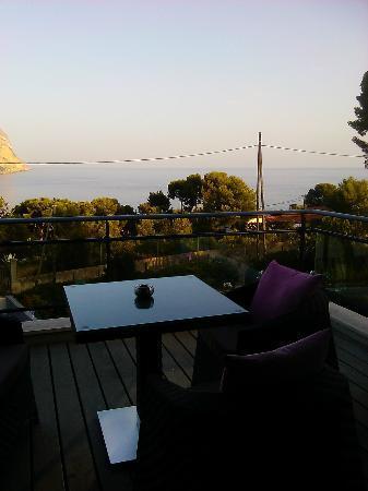 Villa Cassis: Terrasse vue sur mer
