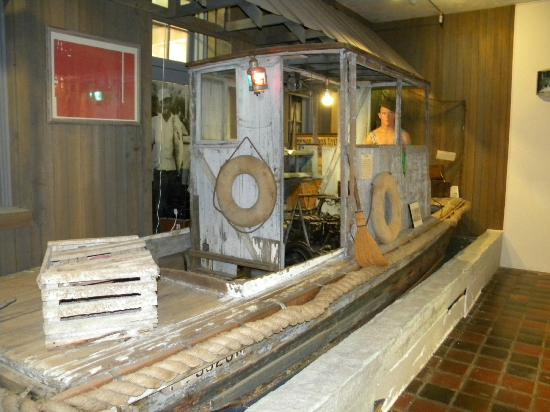 Southwest Florida Museum of History: old boat from the simple times of days gone by