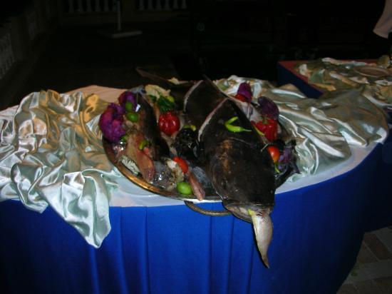 Club Reef Resort: pesce da grigliare