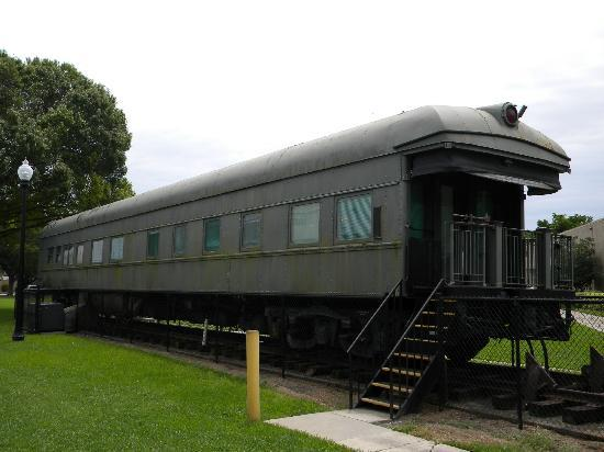 IMAG History & Science Center: Esperanza private railway carriage