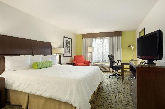 Hilton Garden Inn Hoffman Estates : King guestroom