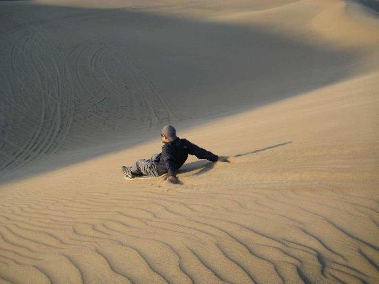 NAZCA PERU 4X4: Sandbording