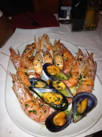 Tia Jass Restaurant: trio de marisco
