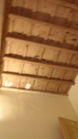 International Student House Florence : El techo (parece que se te va a caer encima)