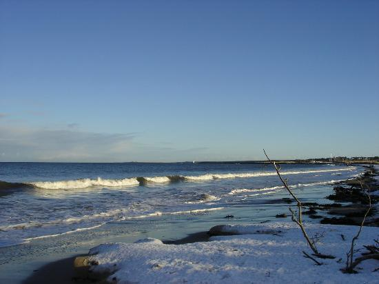 Braeval Hotel: Nairn Beach in Winter