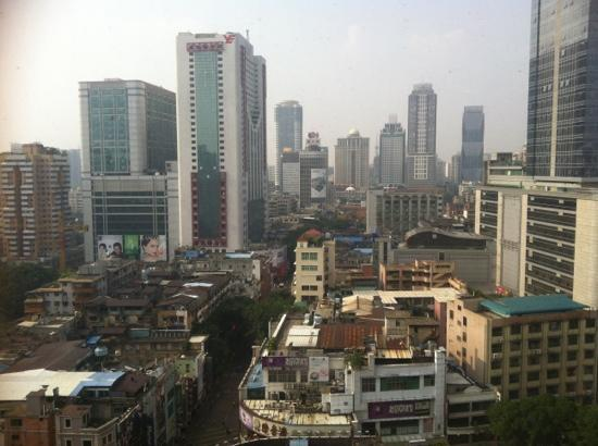 Guangyong Lido Hotel: view from the room