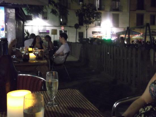 Carmelitas Tapas : On the terrace @ Carmelita's