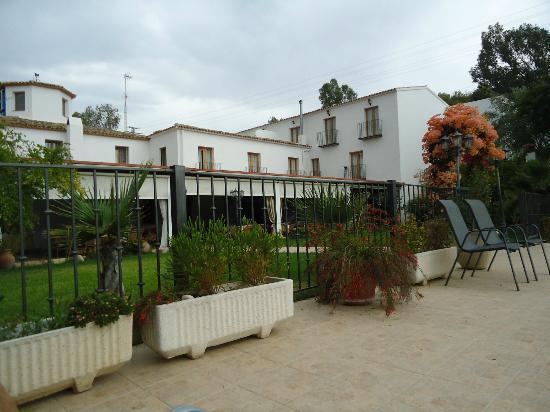 Hotel Tossal d'Altea: hotel vista desde la piscina