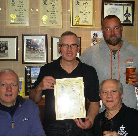 Braeval Hotel: Pub of the Year 2012 award