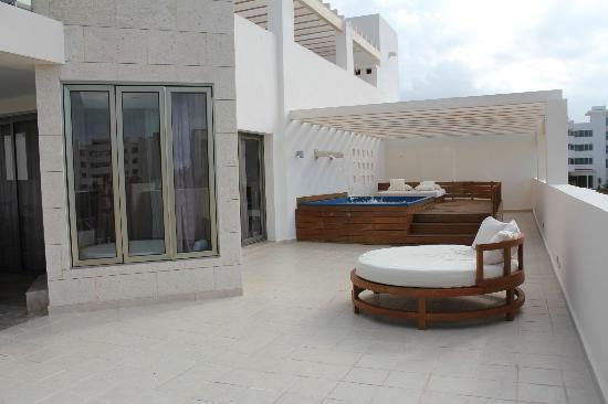 Terrace Suite Patio Picture Of Beloved Playa Mujeres