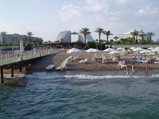 Miracle Resort Hotel: vue du ponton