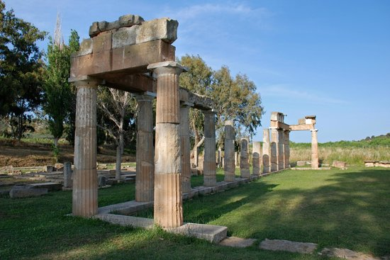 Vravrona, Greece: The temple of Artemis