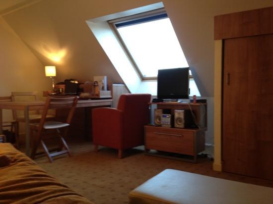 Citadines Saint-Germain-des-Pres Paris: 거실 livingroom, 6th floor