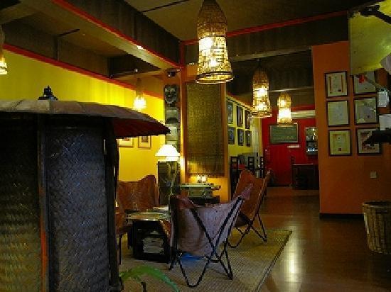Singgahsana Lodge : Reception