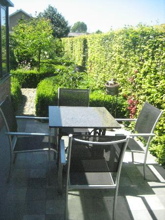 De Kastanjeboom: Terrasse des Zimmers im EG